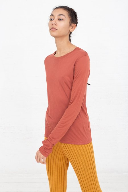 Baserange Long Sleeve Tee - Brick