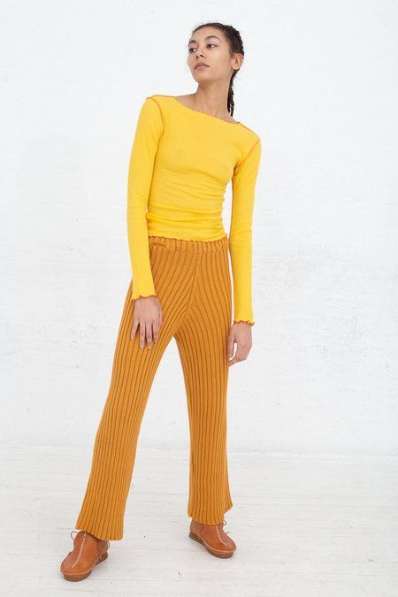 Baserange Vein Long Sleeve - Yellow