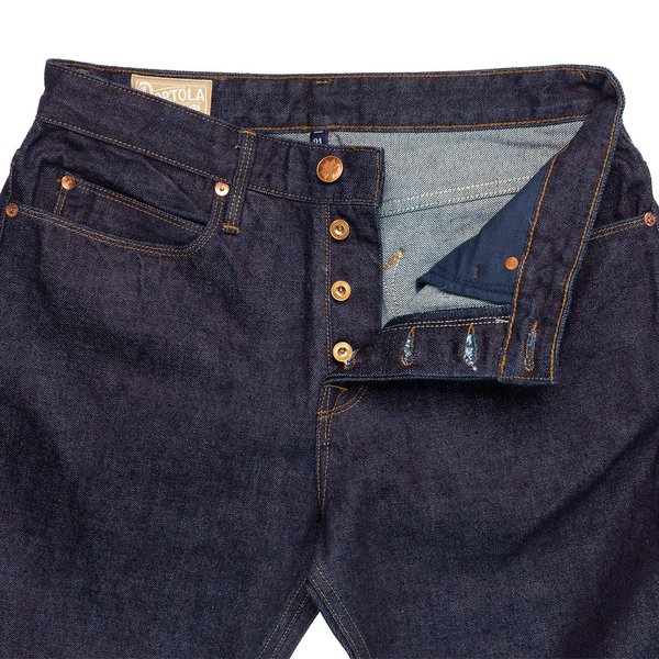 Freenote Cloth Portola Jean - Indigo Rinsed