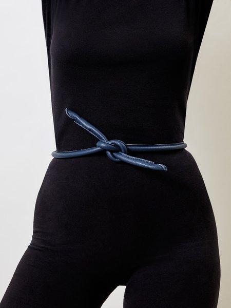 ARE Studio Knot Belt - Navy