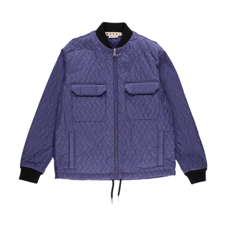 Marni Quilted Jacket - Purple