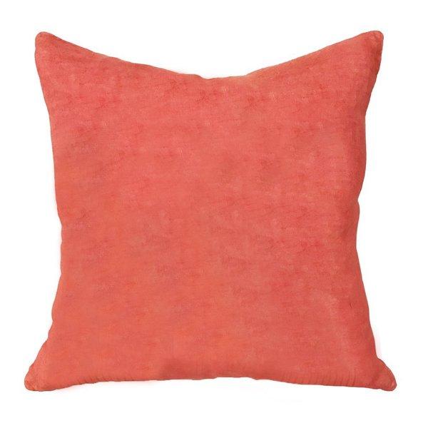 Block Shop Textile Palace Pillow - CORAL