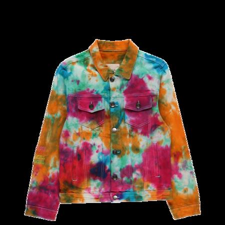 Sugarhill Crunch Berry Denim Jacket - Tie Dye