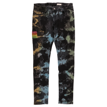 Sugarhill Waves Denim Jean - Tie Dye