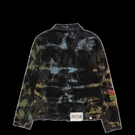 Sugarhill Waves Denim Jacket - Tie Dye