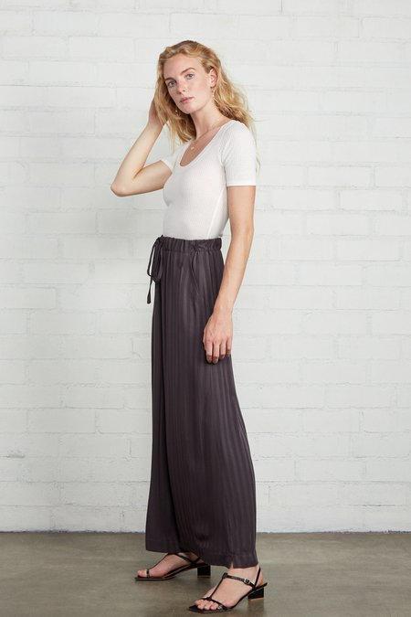 Rachel Pally Shadow Stripe Lyric Pant - Faded Black