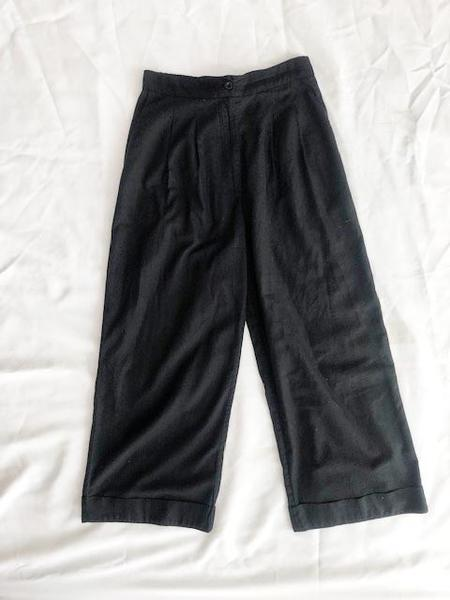 Ali Golden Pants - Black