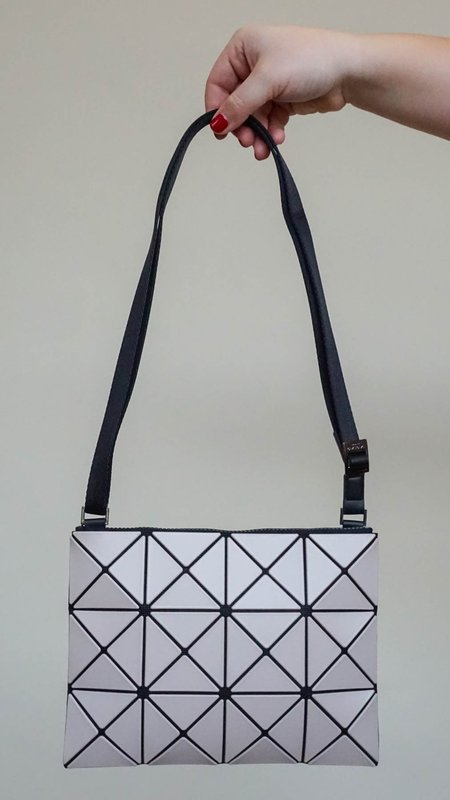 Issey Miyake Bao Bao Lucent Matte Crossbody Bag - Blush