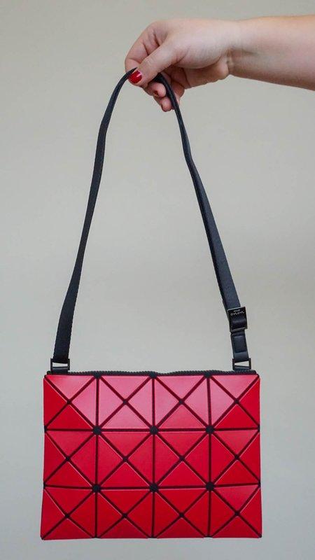 Issey Miyake Bao Bao Lucent Matte Crossbody Bag - Red