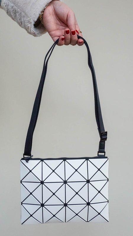 Issey Miyake Bao Bao Lucent Matte Crossbody Bag - White