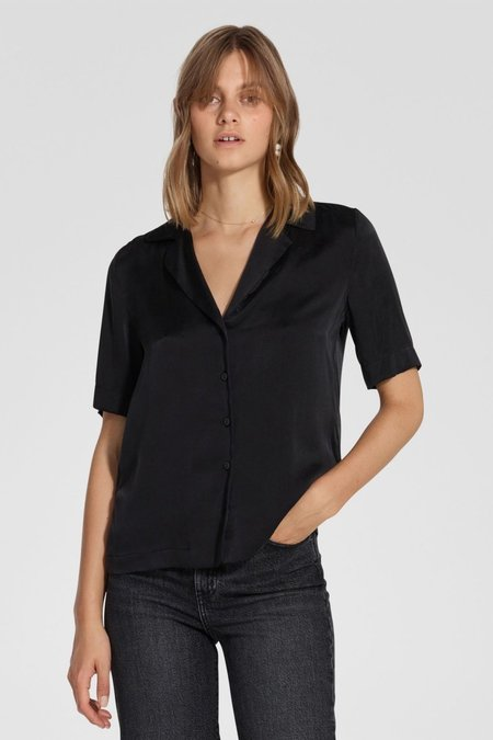 NOBODY DENIM Gallery Shirt - Washed Black