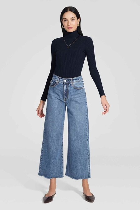 NOBODY DENIM Skylar Wide Jean Ankle - Inspiring