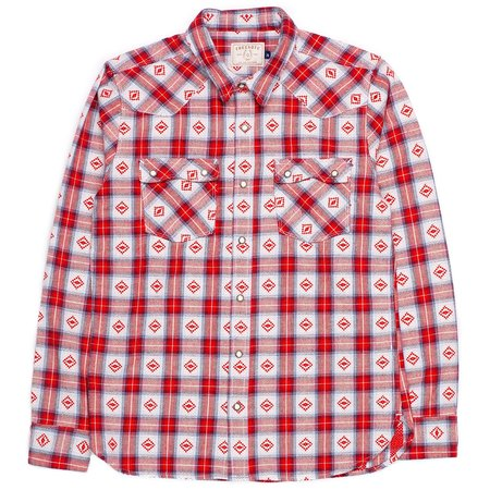 Freenote Cloth Modern Western - True Red
