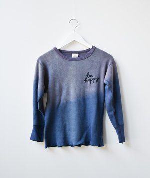 I Stole My Boyfriend's Shirt Vintage Embroidered Thermal Crewneck