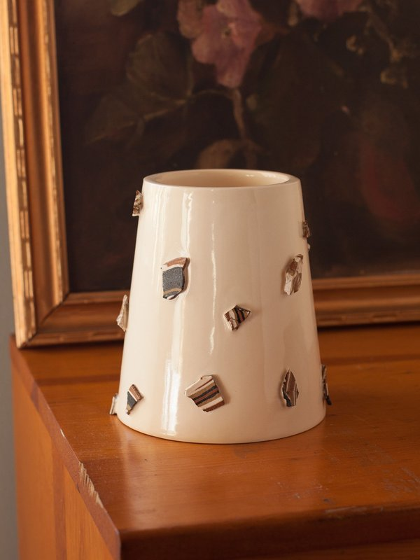 The Pursuits of Happiness Strata Vase