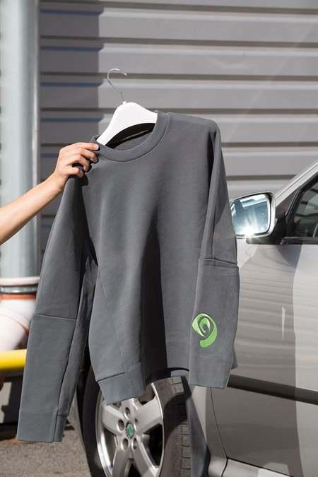 Overall Office Uni Sweatshirt - Khaki