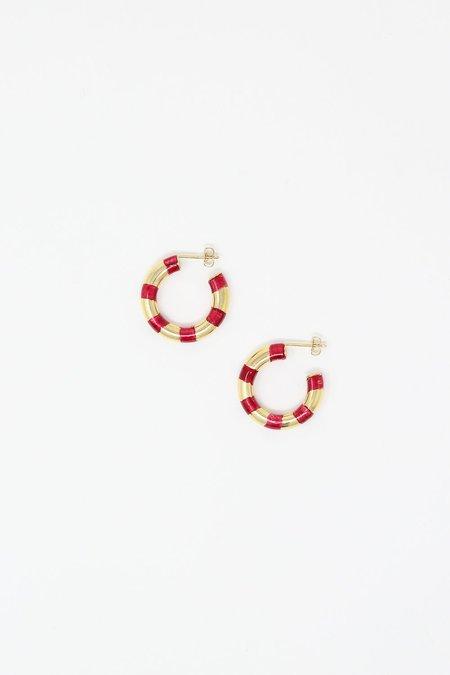 Abby Carnevale Striped Hoops