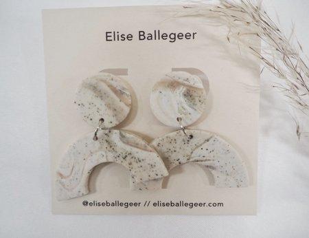 Elise Ballegeer Nina Earrings - Sparkler
