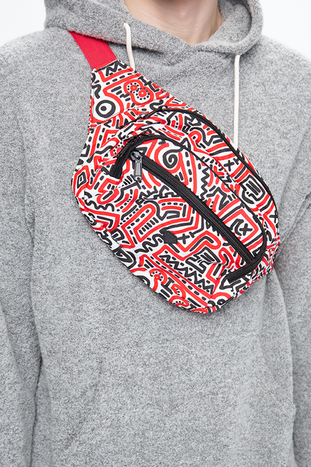 Diamond Supply Co. x Keith Haring Fanny Pack - Multicolor