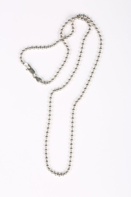 Youthful Peoples BALL CHAIN NECKLACE - sterling silver