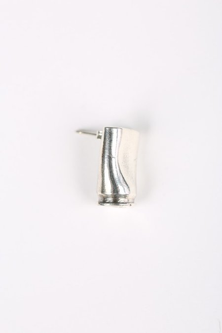 Youthful Peoples Bullet Earring - Silver