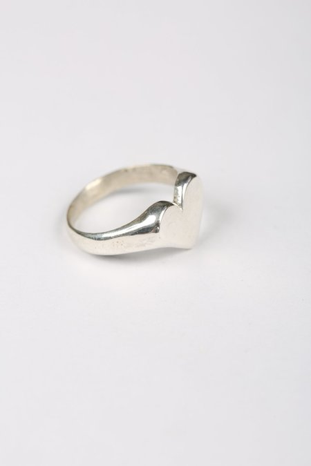 Aris Schwabe HEART RING - Sterling Silver