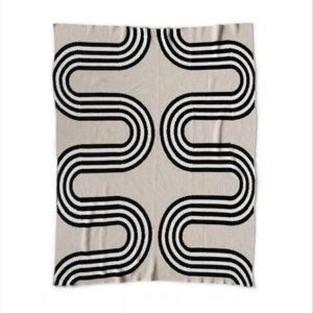 Happy Habitat Recycled Cotton Blanket - 78th Street