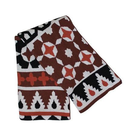Happy Habitat: Recycled Cotton Blanket - Fez