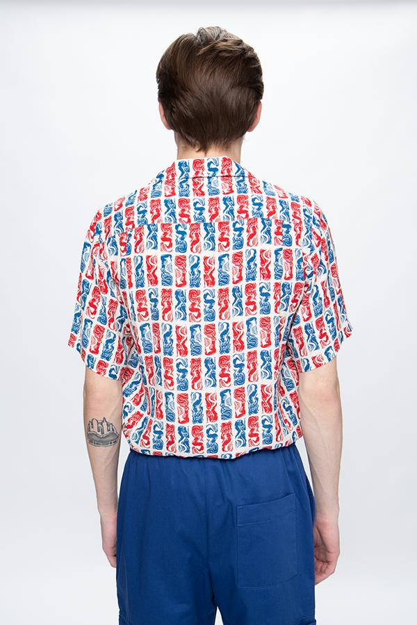 Kenzo All Over Print Casual Shirt - Printed