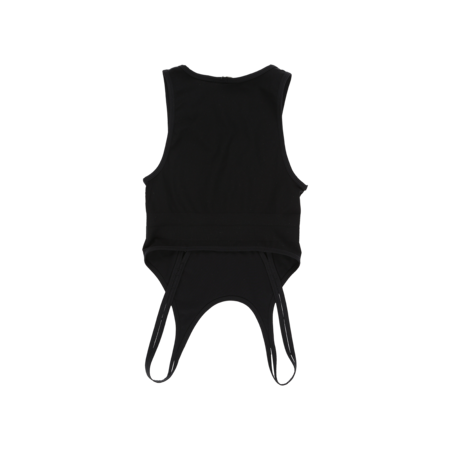Helmut Lang Double Seamless Jersey Bra - Black
