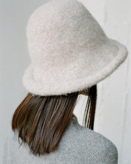 Lauren Manoogian Felt Brim Hat - Oatmeal