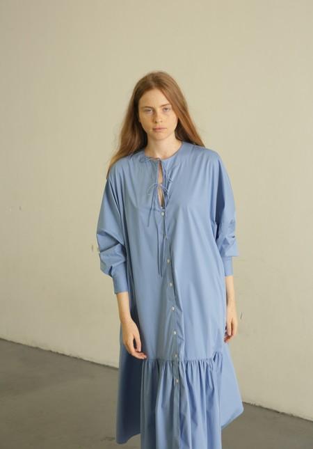 Mr. Larkin Nadine Tie Dress - Blue