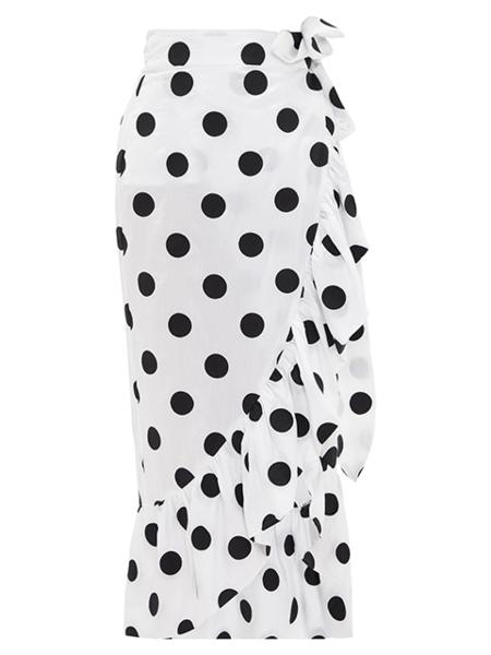 MARA HOFFMAN Eavan Cover-Up - White/Black
