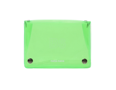 nana-nana PVC B6 Cross Body Bag - Neon Green