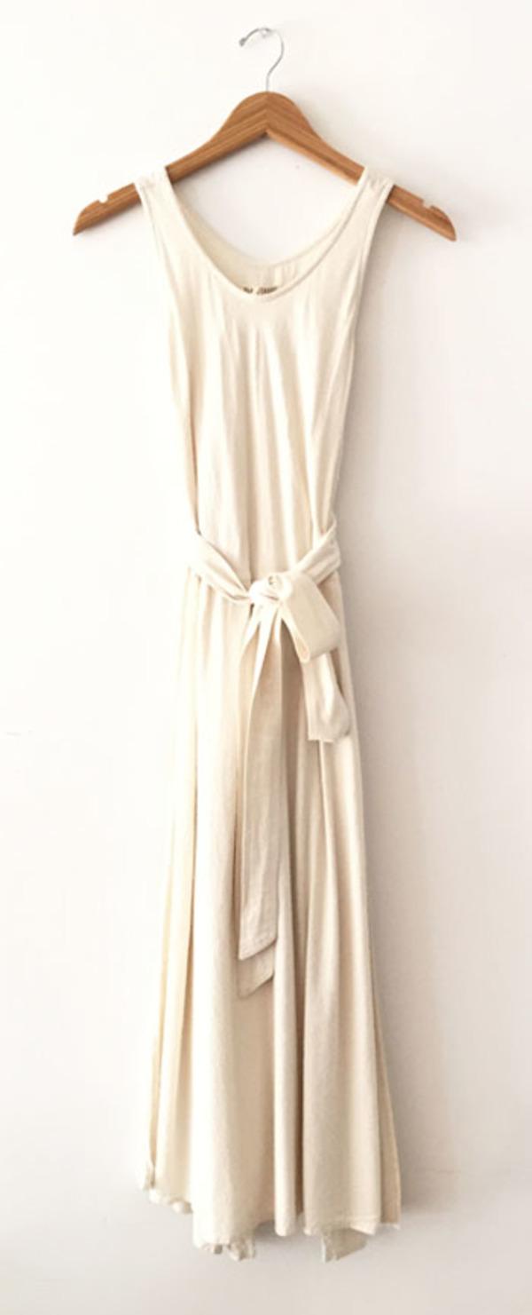 3c4564e057ea Black Crane Wrap Dress - Cream | Garmentory