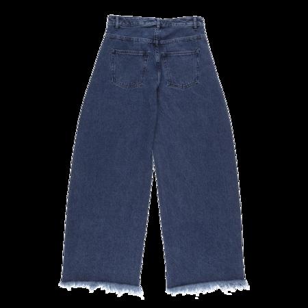 MARQUES ' ALMEIDA Boyfriend Jeans - Mid-Blue