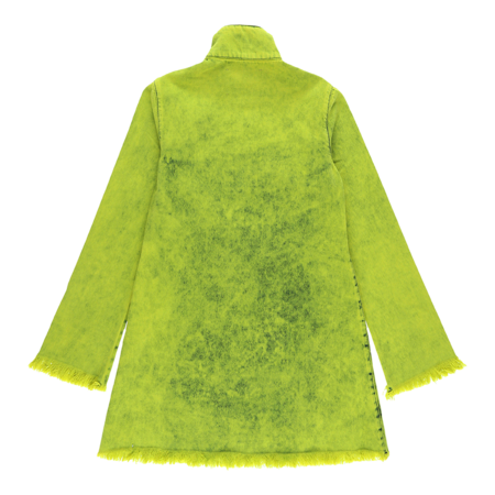 MARQUES ' ALMEIDA Classic Long Sleeve Dress - Lime