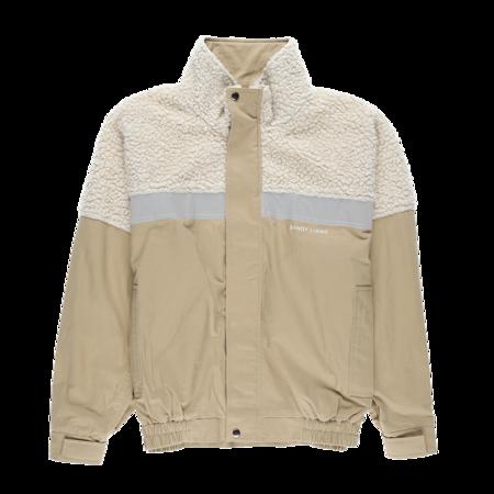 Sandy Liang Essos Jacket - Khaki/Cream