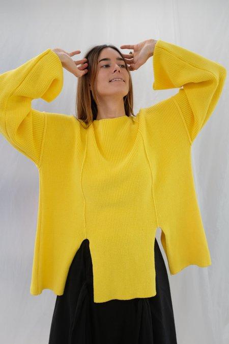 Baserange Ware Pullover - Giallo