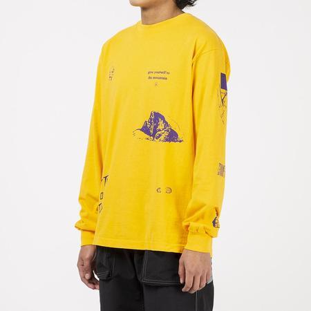 Mister Green Multi Long Sleeve T-shirt - Yellow