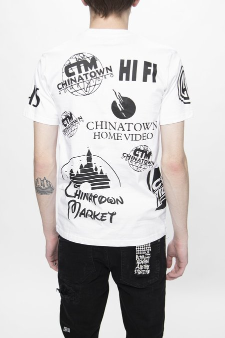 Chinatown Market Entertainment T-Shirt - White