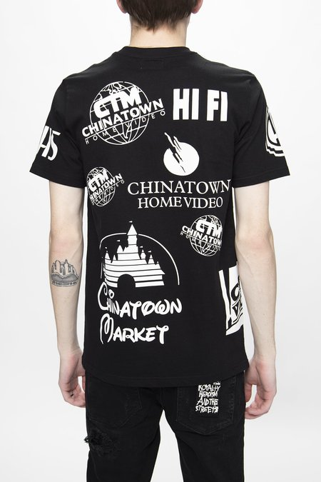Chinatown Market Entertainment T-Shirt - Black