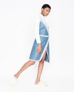 Reemy Distressed Wrap Dress
