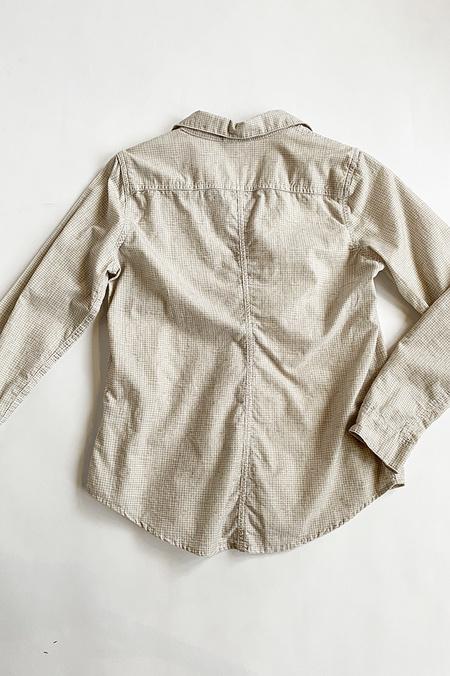 CP SHADES Mini Checkered  Button Up Shirt - Cord Wash