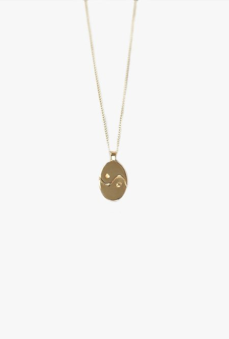 Wolf Circus Paxton Pendant Necklace - Gold