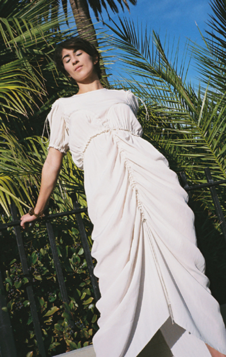 Renata Brenha Maya Dress - CREAM