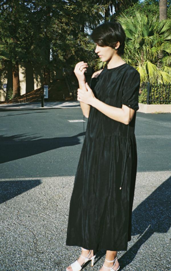 Renata Brenha Triple Dress - Black