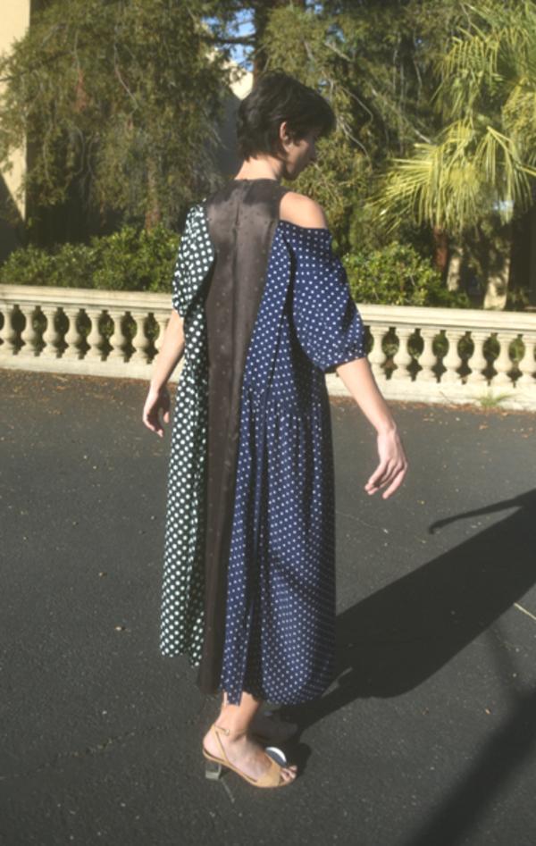 Renata Brenha Triple Dress - Polka Dot No. 8