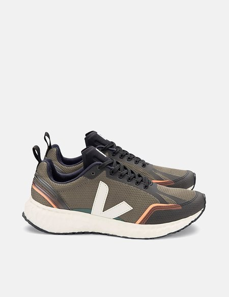 Veja Condor Mesh Running Shoes - Khaki/Natural
