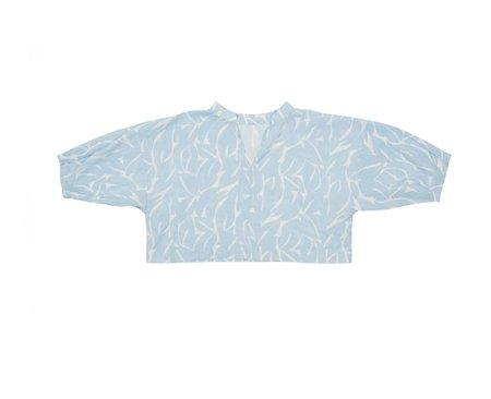 Ilana Kohn Ava Shirt - Leaf Print